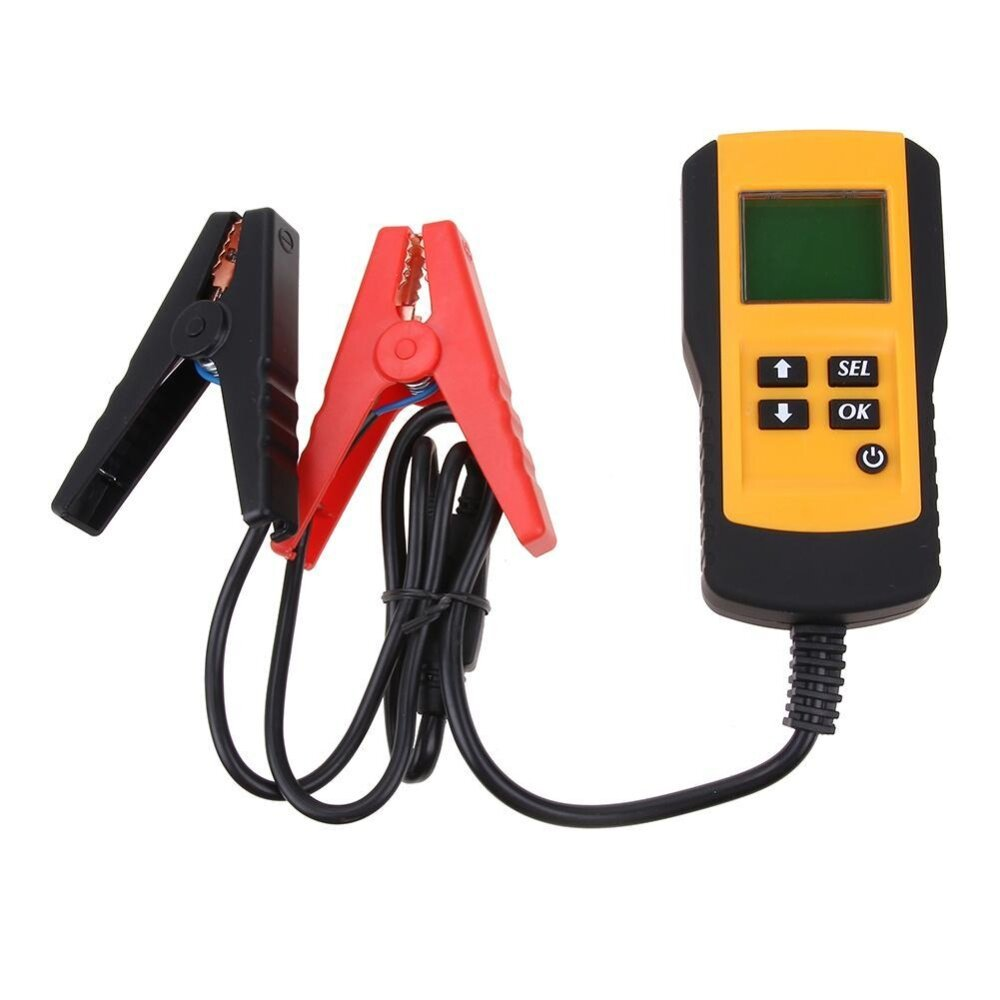 12V Car Vehicle Battery Tester Automotive Analyzer Digital Display - intl