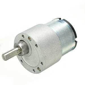 24V DC Metal Gear Reducer Motor High Torque DC Gear Box Motor - intl