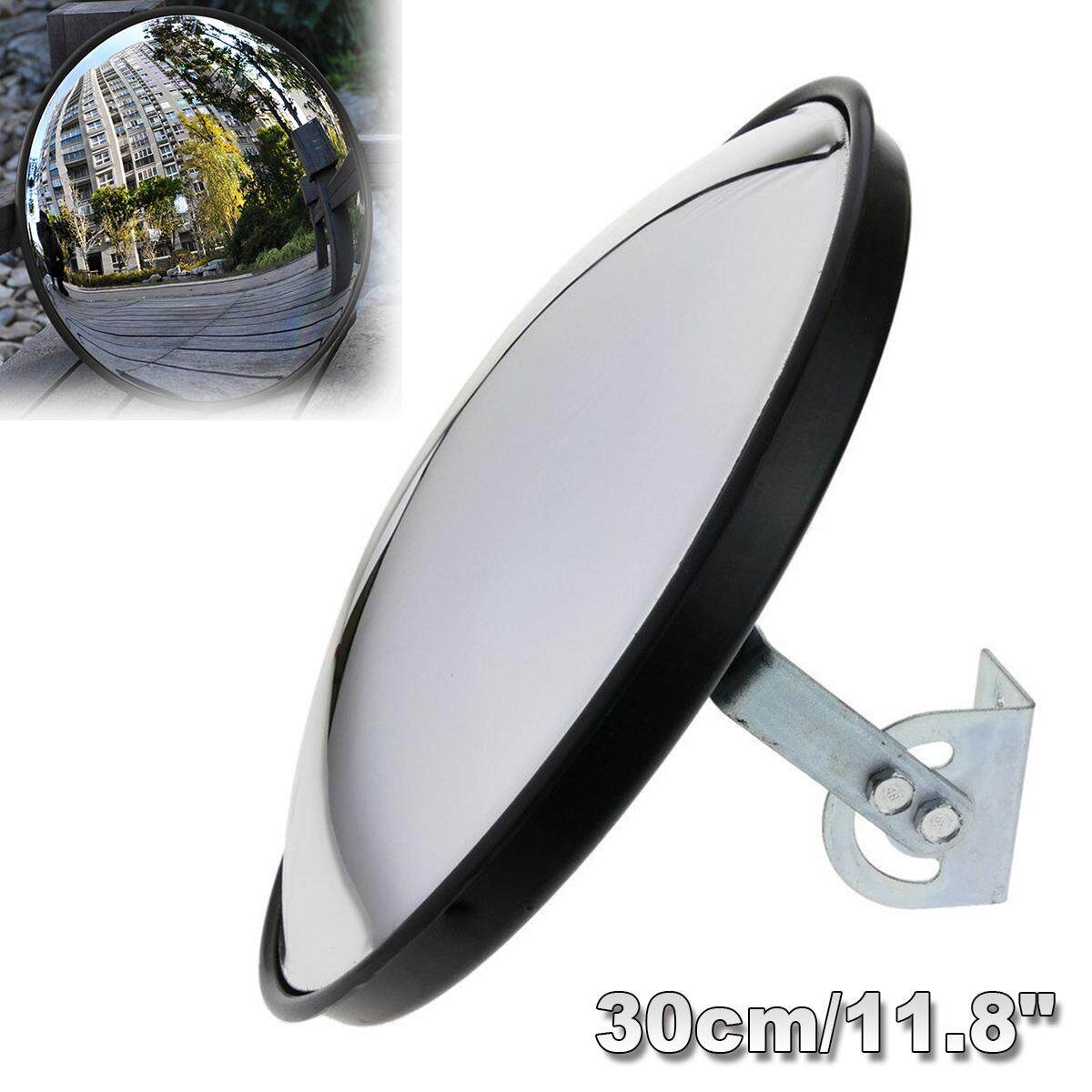 30cm/12 Wide Angle Security Curved Convex Road Mirror Traffic Driveway Safety - intl