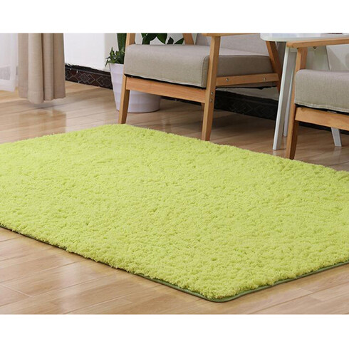 50*160cm Large Size Plush Shaggy Soft Carpet Area Rugs Slip Resistant Floor Mats for Parlor Living Room Bedroom Home Supplies - intl