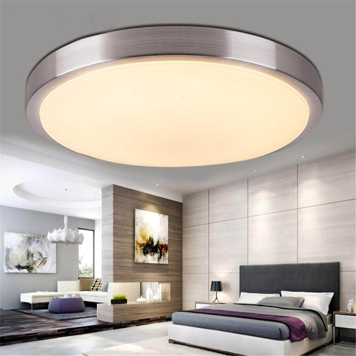 5/15/36w LED Modern Ceiling Light Bedroom Living Room Surface Mount Lamp Decor#Warm 35cm - intl