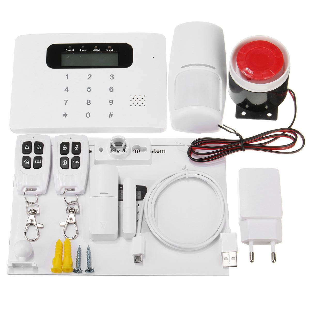 APP Control Wireless GSM PSTN Home House Office Alarm Security System Autodial EU - intl