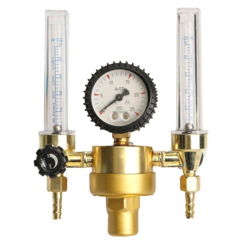 Argon CO2 Mig Tig Flow meter Regulator Welding Weld Machine DoubleBackpurge - intl