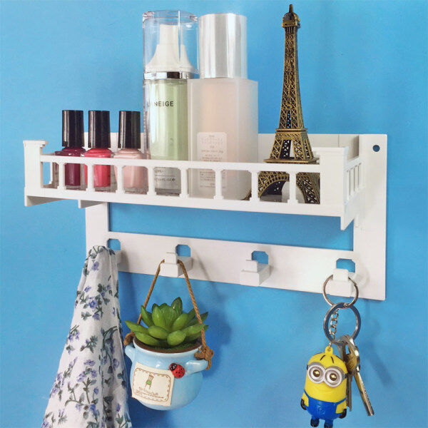 Nail-free Wall Storage Rack for Dormitory