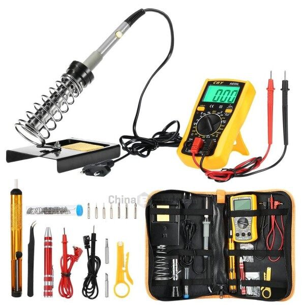 D60 Electronic Soldering Iron Kit with Temperature Control - intl