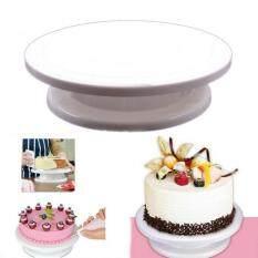 DIY Rotating Revolving Kue Dekorasi Stand Kue Pernikahan Ulang Tahun Turntable Baking Tools