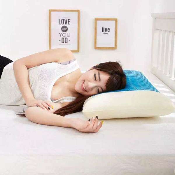 Epoch Practical High-quality Hot Sell Memory Foam White Pillow Cooling Gel Washable Sleep Cervical Vertebra Protect
