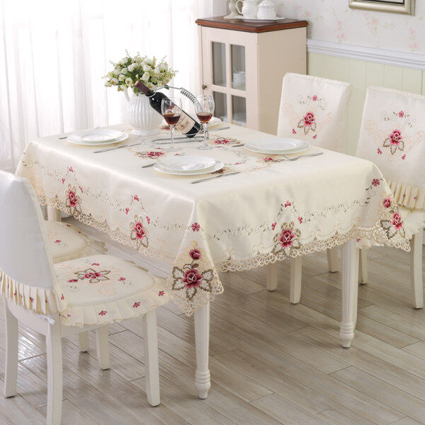 European Style Luxury Pastoral Cloth Cover Coffee Table Cloth Tablecloth  Malaysia