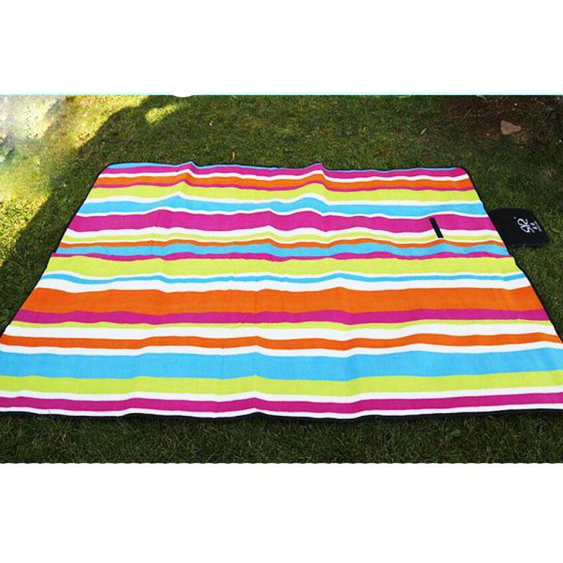Foldable Dampproof Beach Picnic Mats Camping Mat Thicken Moisture-proof Pad Waterproof Multiplayer Baby Crawling Blanket 150X200CM - intl