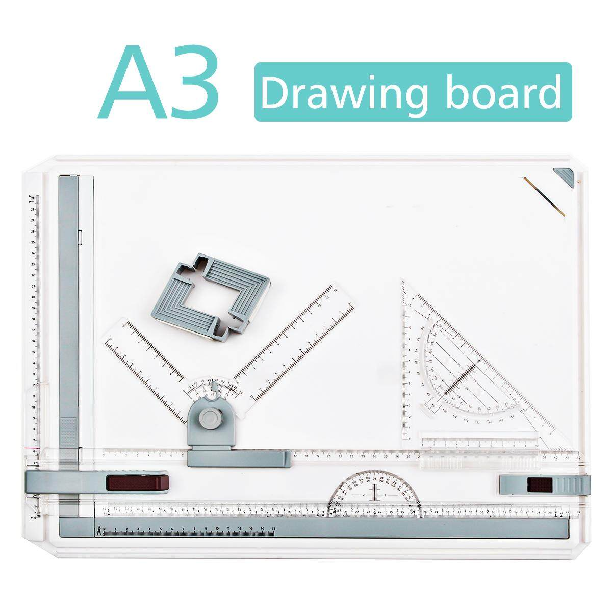Mua GOCHANGE 50 x 36.5cm A3 Drawing Board Drafting Table With Parallel Motion And Adjustable Angle - intl
