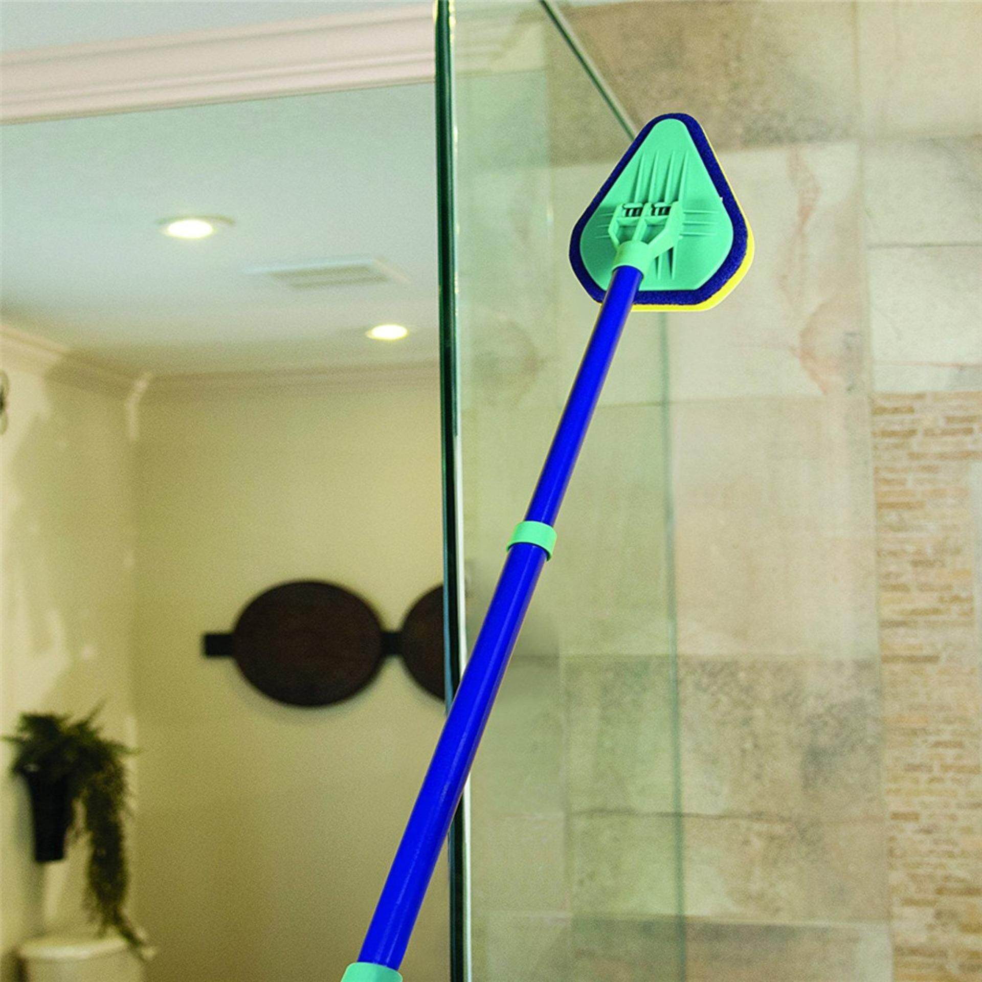 Hot Sale Clean Reach Deluxe Power Scrubber Bathtub Cleaner And Kitchen Brush With Handle 3in One Multifunctional Cleaner - Intl By Cessna.