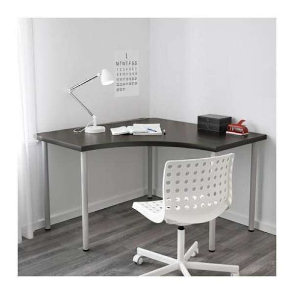 Ikea Linnmon Corner Table Top Home Office Desk Writing Study Computer 120x120 Cm Malaysia