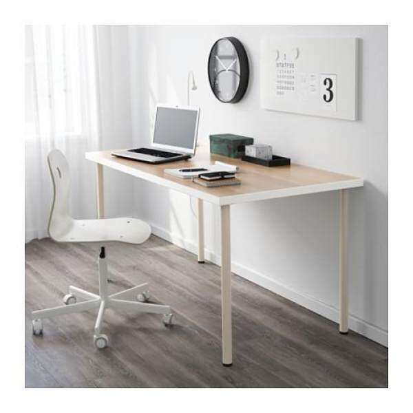 Ikea Linnmon Table Top Home Office Desk, Writing, Study, Computer Table  150x75 Cm Malaysia