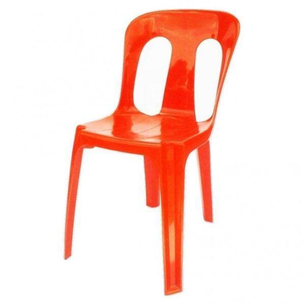 KINGYO KY5002 R Plastic Side Chair (Red) Malaysia