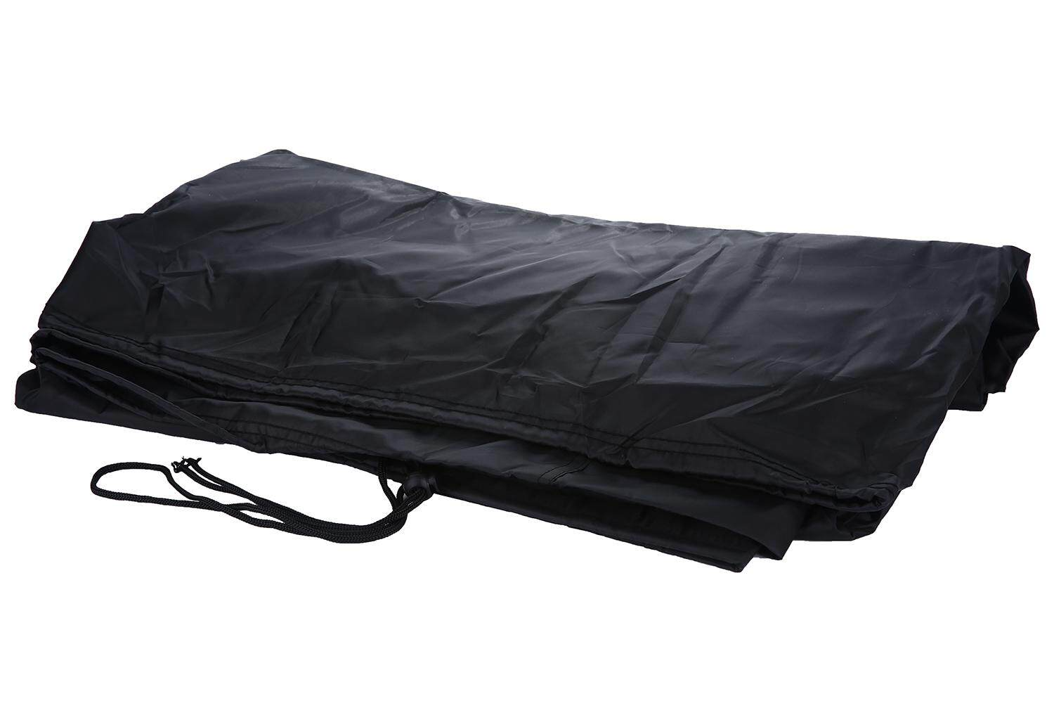 Kobwa Barbeque Gas Grill Gover Heavy Duty Premium Grill Cover 57 Inch Waterproof For Weber, Holland, Jenn Air, Brinkmann And Char Broil (Black) - intl