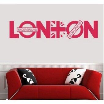 London City Underground Vinyl Wall Sticker Art Decal PosterWallpaper Mural DIY Dekorasi Rumah Vinilo Pegatina Adesivo Parede-Intl