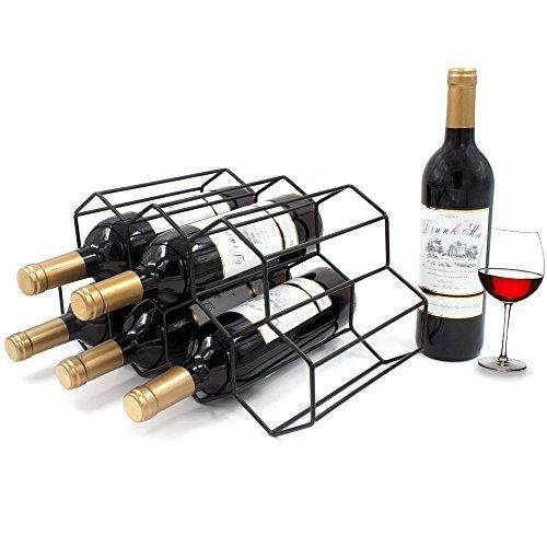 Metal Wine Rack Stack 7 Bottles Countertop Wine Holder Stand Wine Bottle Holder Free Standing Wine  sc 1 st  Lazada Philippines & Space Saver for sale - Kitchen Space Saver prices brands u0026 review ...
