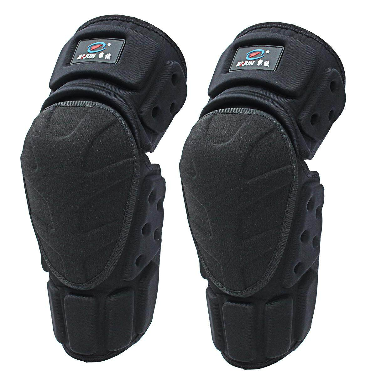 Moto Knee Pads Black Protective Motorcycle Kneepad Motorcycle Motocross Bike Bicycle Pads Knee Pads Protective Guards (Black)XL - intl