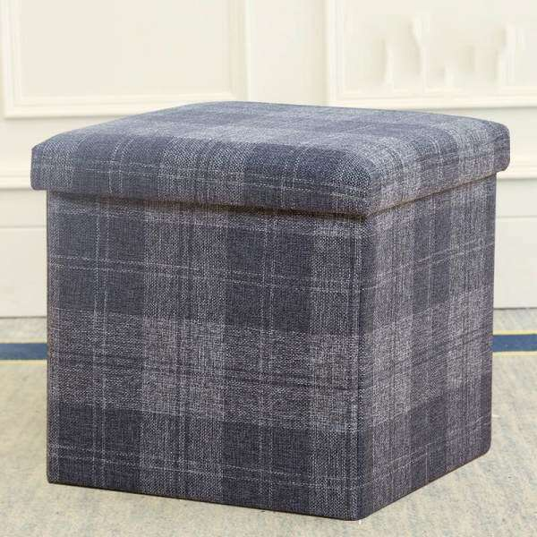 Multi-function Storage Stool Can Sit Storage Stool Mini Sofa Change Shoes Stool Finishing Box Storage Stool Multi-functional Sofa Stool Toys Storage and Finishing Box Change Shoes Chair Thickening Soft Storage Box - intl