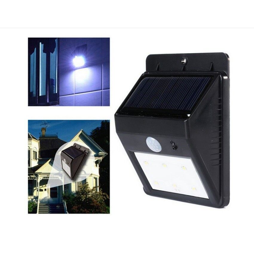 Outdoor lighting for sale outdoor lights prices brands review new 6 led solar led pir motion sensor wireless security waterproofwall light outdoor garden lamp ss aloadofball Image collections