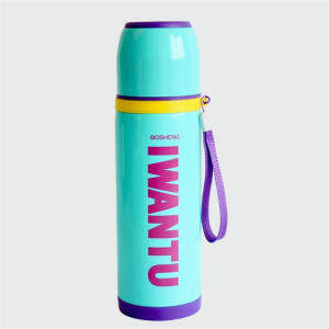 Hình thu nhỏ ONEDAY Mug Insulated water bottle Coffee Mug Water Glass Bottle Vacuum Flasks Cups Vacuum Flasks Thermos Coffee MUG(Blue) - intl