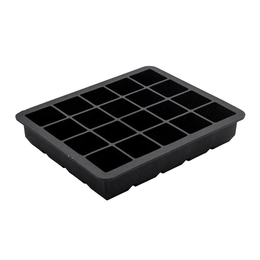Oscar Store Silicone 20 Grid Ice Cube Square Tray Jelly Maker Bar Home Kitchen Drinking - intl