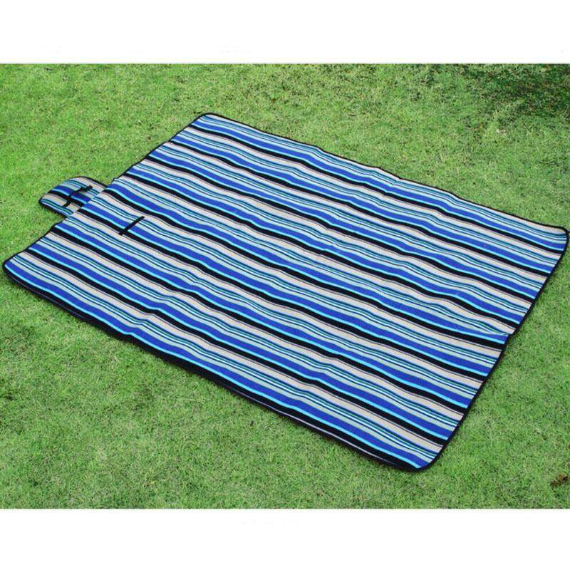 Outdoor Dampproof Beach Picnic Mats Foldable Camping Mat Waterproof Multiplayer Baby Crawling Blanket Thicken Moisture-proof Pad 150X200CM - intl
