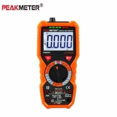 PEAKMETER PM890C True RMS Digital Multimeter NCV Voltage Current Resistance Tester Capacitance Frequency Temperature hFE Measure Tools