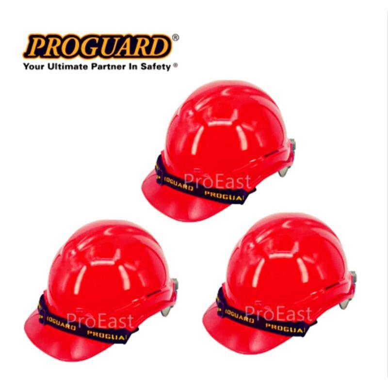 Proguard 3 UNIT HG1-PHSL Advantage Safety Helmet RED (Sirim Certified)