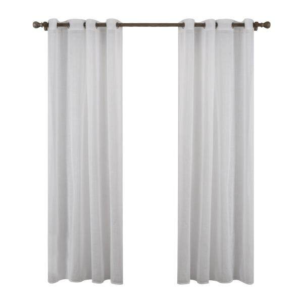 Yika Pure color Tulle Voile Door Window Curtains Drape Sheer Scarf Valances 140X220cm