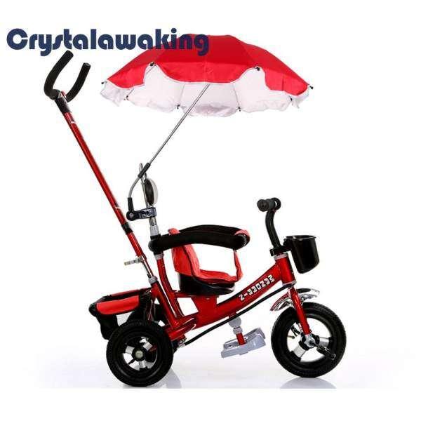 Pushchair Baby Pram Parasol Sun Protection UV Rays Umbrella Shade (Red) Malaysia