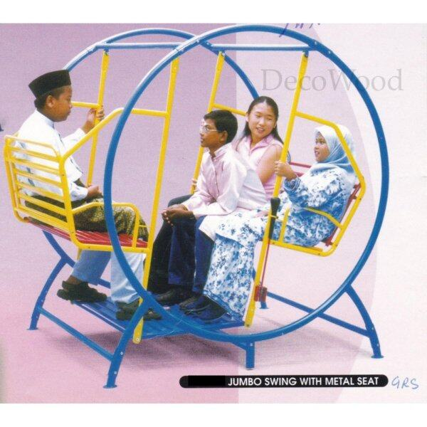Round Shape Metal Solid Garden Swing/Metal Swing/Children Playground/Children Toy/Toys/Indoor Swing/Outdoor Swing/Relax Chair/Patio Chair/Patio Swing/Family Swing/Baby Swing