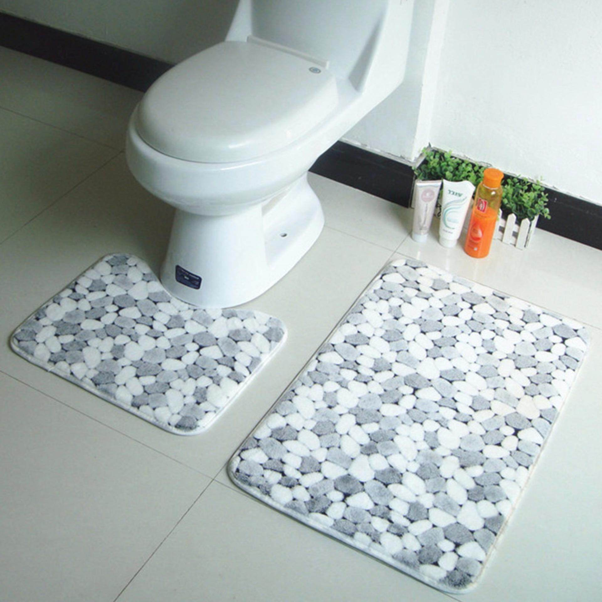 Pelacakan Harga Set 2 Lembut Karang Bulu Toilet Tidak Tergelincir Mandi Tikar Alas Lantai Karpet-Internasional periksa peringkat - Hanya Rp121.164