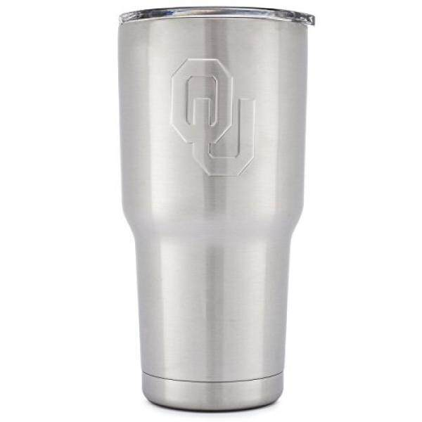 Wikipedia Moderen Universitas dari Oklahoma Kekosongan Insulated Tumbler-Ganda Walled 18 Tainless Baja Perjalanan Mug-Ou Sooners Licensed college Tailgating Wadah-Kopi Cangkir-Cheer Collection-30 Oz-Internasional