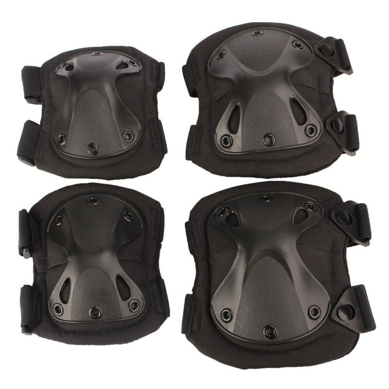 Tactical Protection Knee Pads & Elbow Pads Set Sports Safety Protective Gear