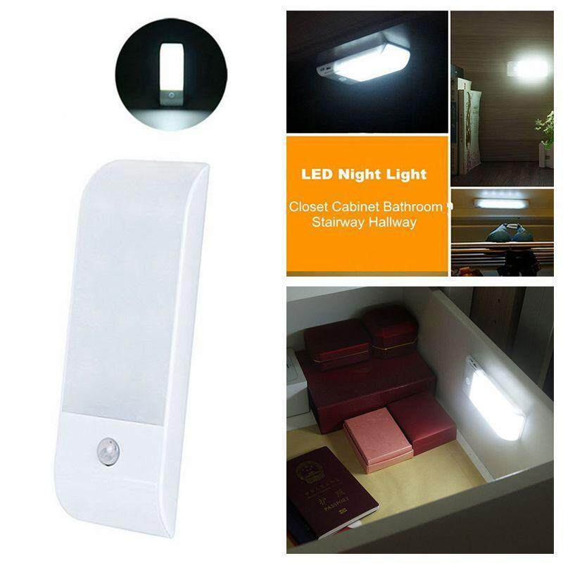 Teepao Rechargeable Motion Sensor Light, 12 LED Motion Activated Auto On/Off Night Light,3 Modes Closet Light,Wall Light For Hallway, Bathroom, Bedroom, Kitchen, Etc - intl