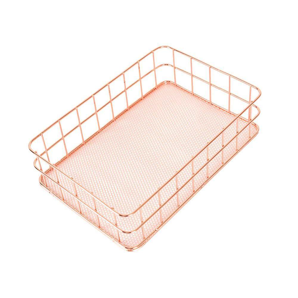 office storage baskets. Umiwe Metal Storage Basket, Wire Bin Stackable Organizer For Laundry, Bathroom, Kitchen Office Baskets