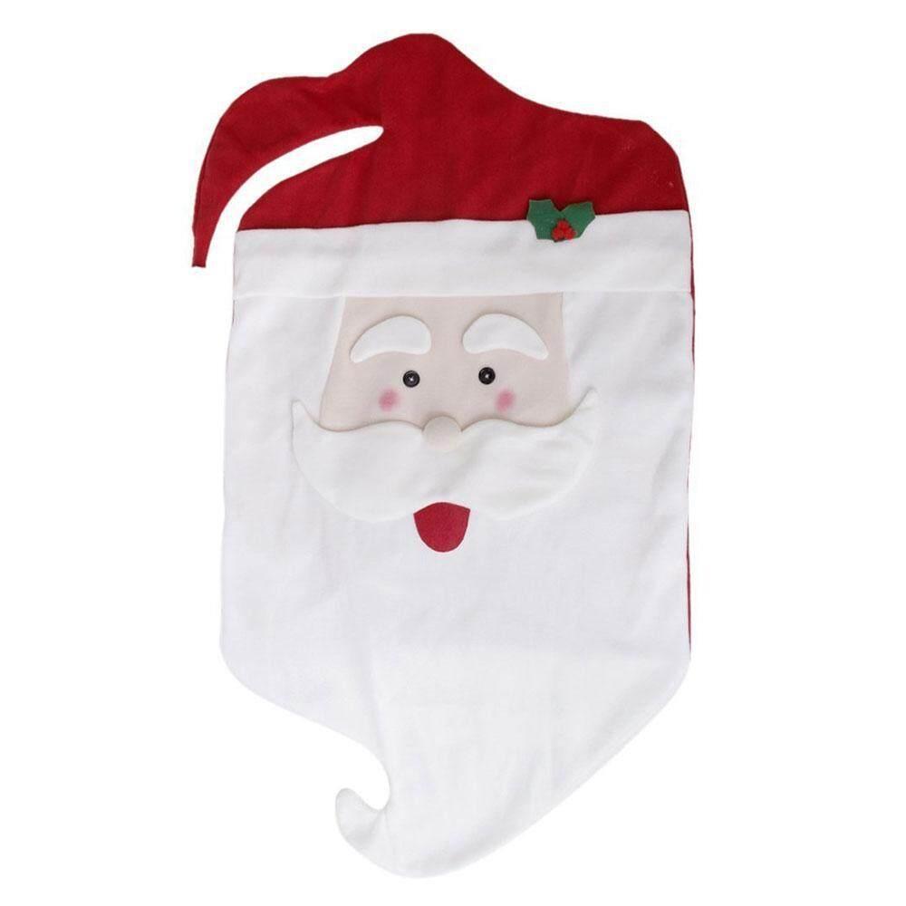 Umiwe Mr Mrs Santa Claus Christmas Kitchen Chair Covers - intl