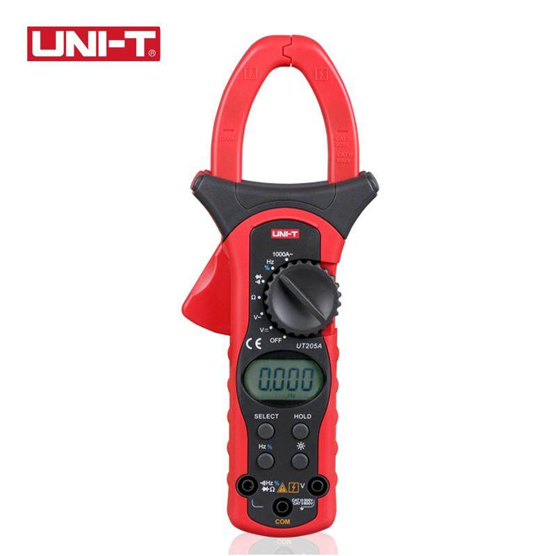 UNI-T UT205A AC DC Clamp Multimeters Current Digit Volt AC Ampere Ohm Hz Tester - intl