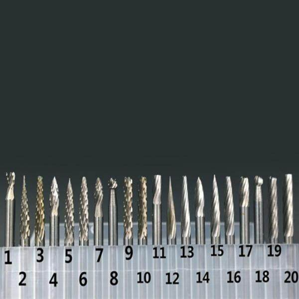 Useful One Set Tungsten Steel Carbide Burrs Die Grinder Drill Bits Rotary Tool - intl