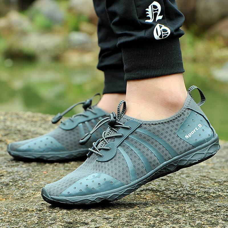 18d8582344ac Water Shoes for Men Beach Shoes Snorkeling Wading Surfing Hiking Shoes for  Men Sports Shoes Large