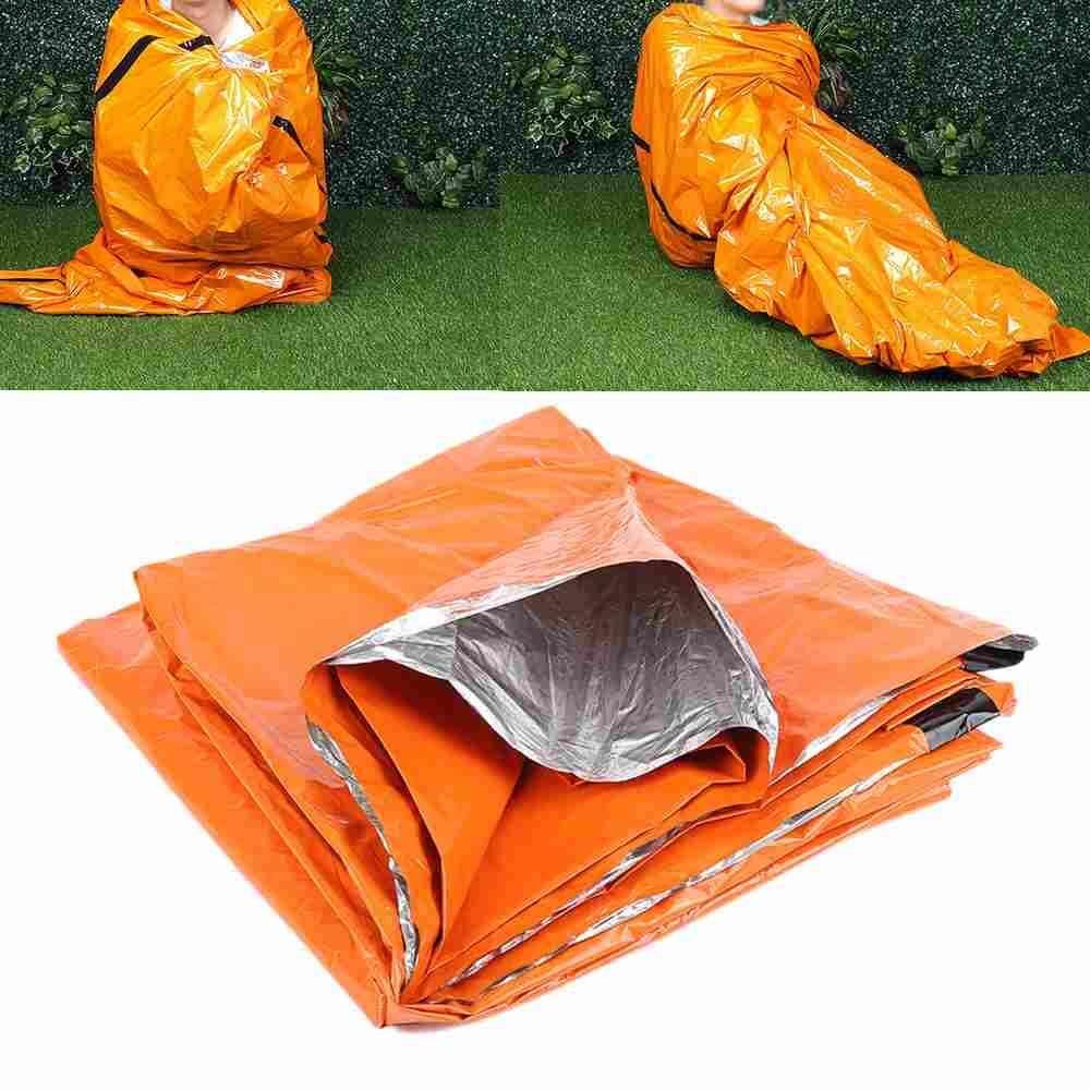 Hình ảnh 1 Pcs Reusable Outdoor Survival Hiking Camping Waterproof Emergency Sleeping Bag - intl
