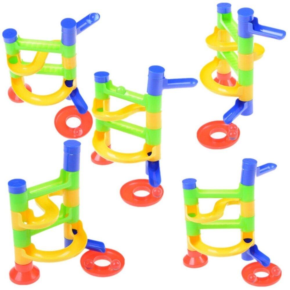 Hình ảnh Baby Kid'S Orbit Ball Toy Diy Construction Marble Race Run Maze Balls Toy - intl