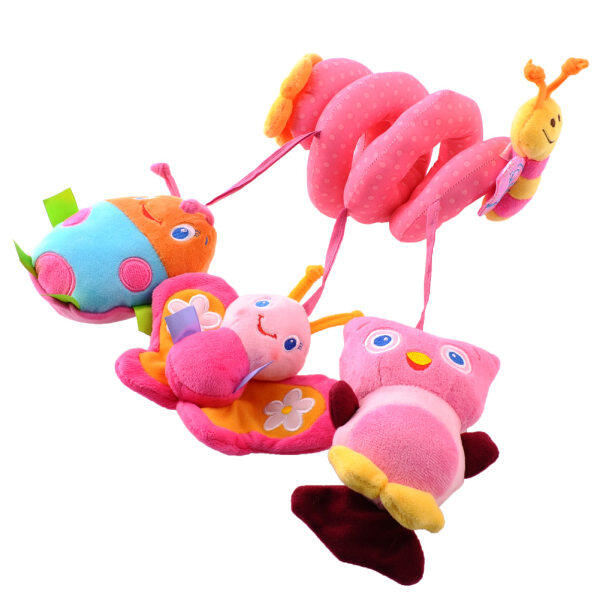 Baby Kids Cot Spiral Hanging Decoration Stroller Toys For Car Seat Pram Malaysia