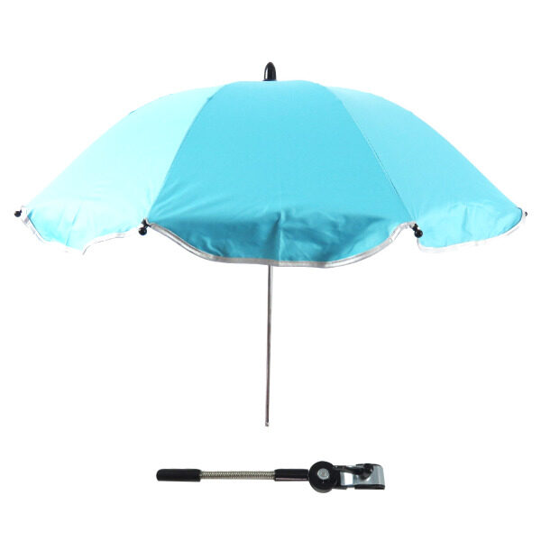 Baby Stroller Carriages UV Protection Umbrella Sunshade 360 Degrees Adjustable Direction Stroller Accessories for Most Baby Stroller Blue - intl Singapore