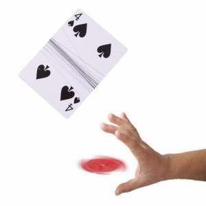 Hình thu nhỏ sản phẩm Card Magic Trick Absolutely Floating Card Close Up Street Gaff - intl