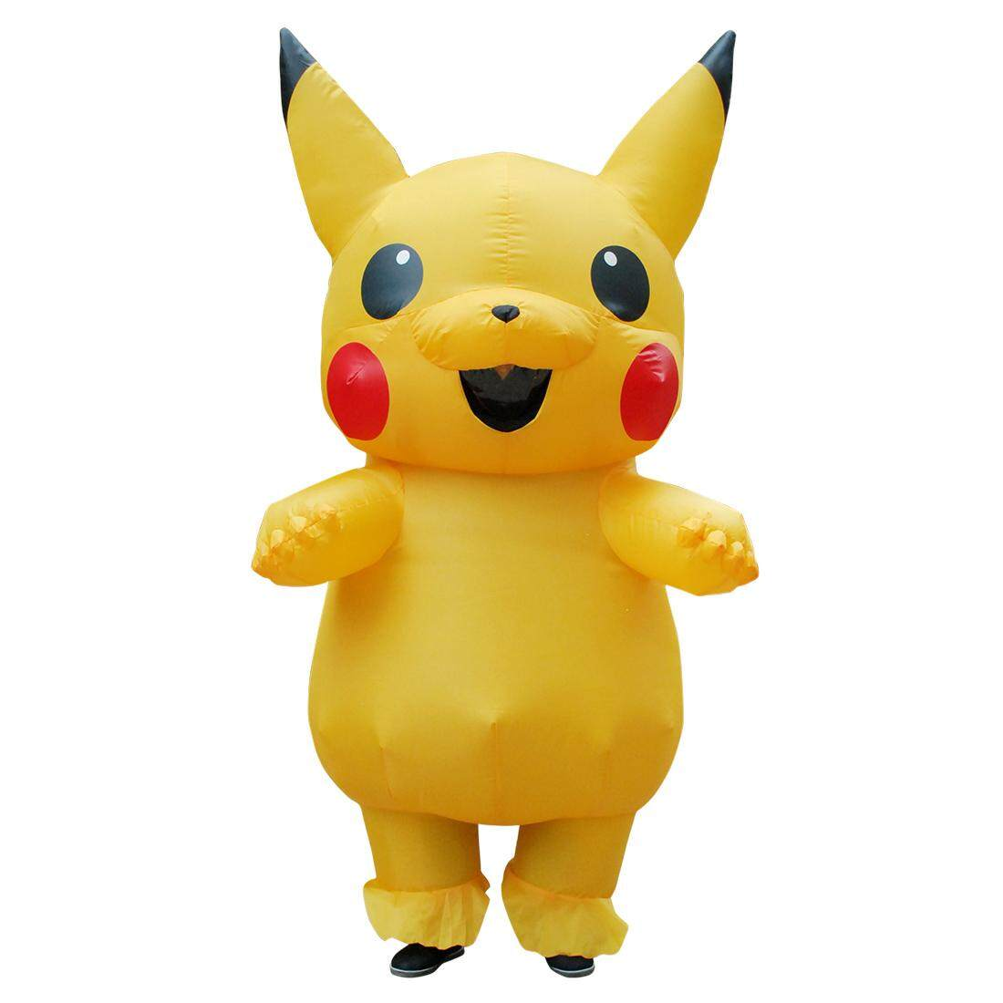 Christmas Costume Inflatable Pikachu Costumes Halloween Costume For Adult - Intl By Maxky.