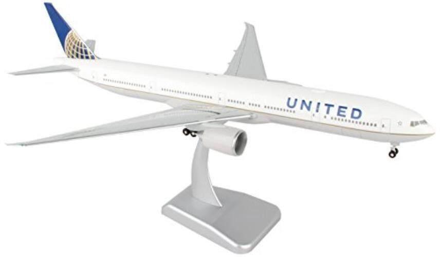 Daron Di Seluruh Dunia Trading Hogan Amerika 777-300ER Kendaraan dengan Gear & Wi-fi Radome (Skala 1/200)-Intl