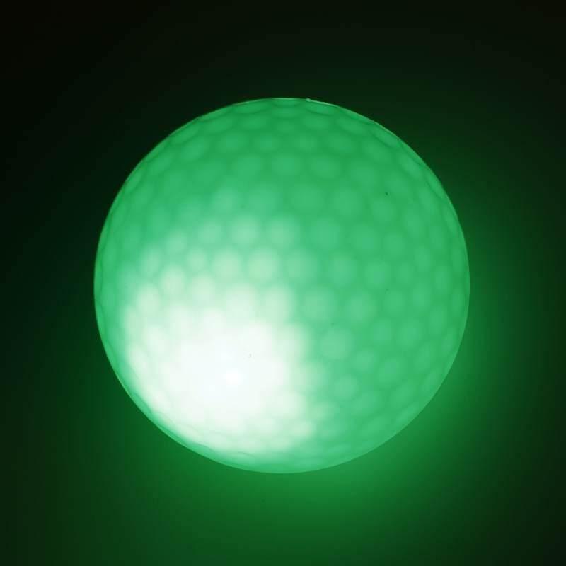 Durable Led Light Up Night Golf Balls 4pcs Tournament Balls Official Size - Intl By Lagobuy.