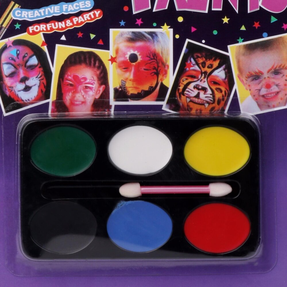 Face Body Painting Palette Craft Kit Festival Halloween Parties New